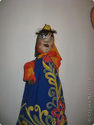 Анфиса.кукла-мешочек для целофановых пакетиков. фото 1