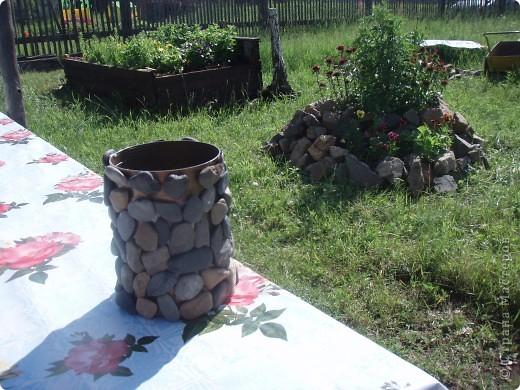 ваза с камнями   фото 2