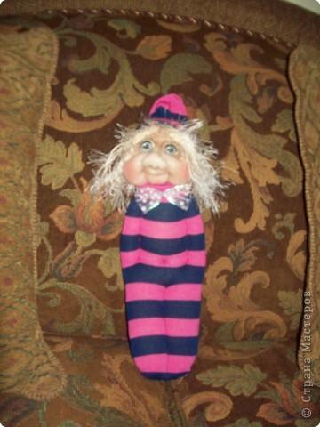 Мой первый Тролль из носочков. фото 2