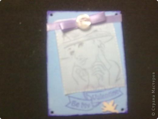"""В основе карточек распечатка работ В.Шорохова. """"Удивительные по своей пластике графические работы Владимира Шорохова.  В них все настолько гармонично, при минимуме линий, в итоге рождается поэтический, прекрасно-утонченный женский образ.""""   Образы напечатала на кальке, и получилось то, что и задумывалось: то ли девочка, а то ли виденье. №1 Девушка - скромница фото 2"""