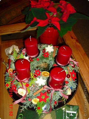 Мой рождественский венок. фото 3