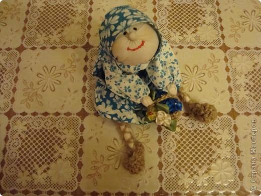Много раз на различных ярмарках видела таких кукол, вот и решилась сшить сама. Лично меня результат порадовал, а вас? фото 3