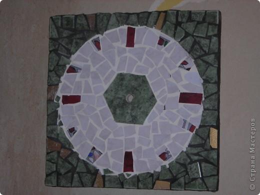 мозаика-часы фото 1