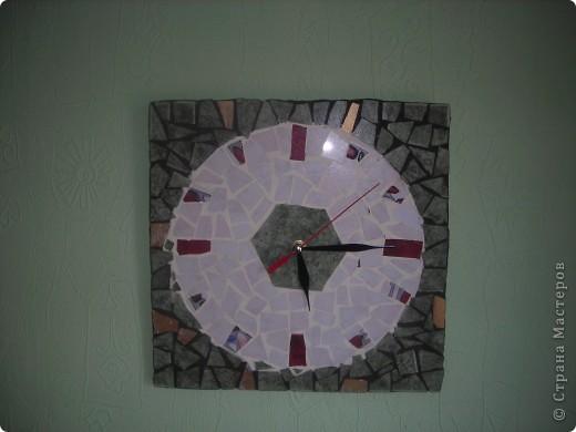 мозаика-часы фото 4