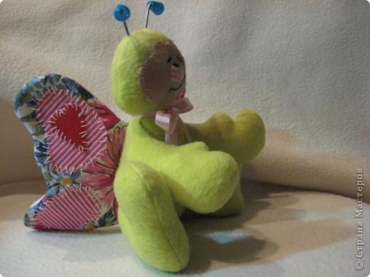 Здравствуйте, жители Страны Мастеров!   Сегодня я хочу познакомить вас с моей новой тильдочкой. Это--Бабочка!!! фото 2
