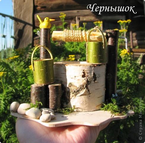 Деревенский колодец фото 1