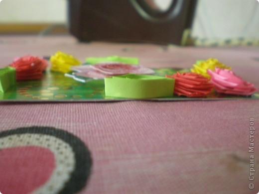 Всем доброго времени суток!!!  Вот Моя новая серия карточек Нежность роз. Розы выполнены в технике квиллинг.  фото 11