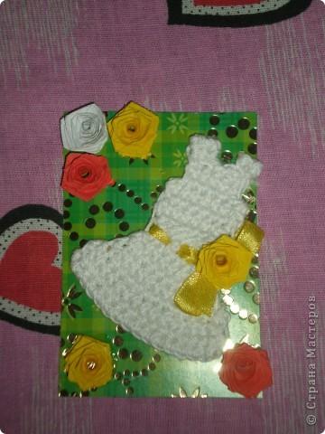 Всем доброго времени суток!!!  Вот Моя новая серия карточек Нежность роз. Розы выполнены в технике квиллинг.  фото 7