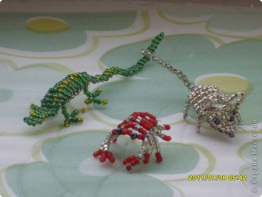 ящерица,краб и мышь фото 1