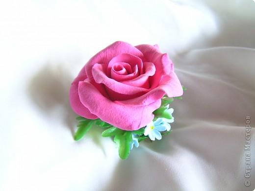 Роза и незабудки фото 1