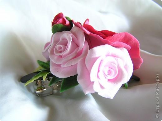 Мак и розы-тандем фото 2