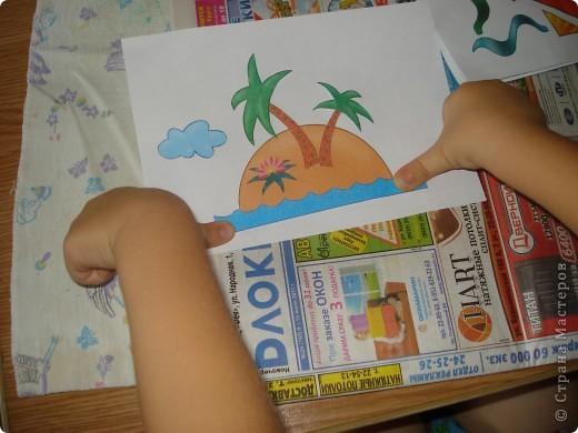 Недавно Елена Базарова писала про книжки с аппликацией для малышей. Мы давно уже делаем эти аппликации. Вот из последнего. Летняя коллекция фото 4