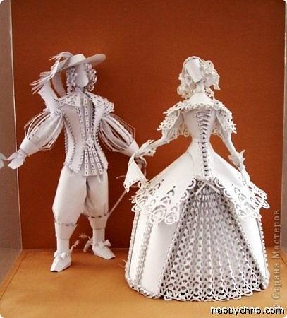 Это бумажные куклы украинской художницы Аси Гонца. Случайно увидела в интернете, захотелось вам рассказать. фото 1