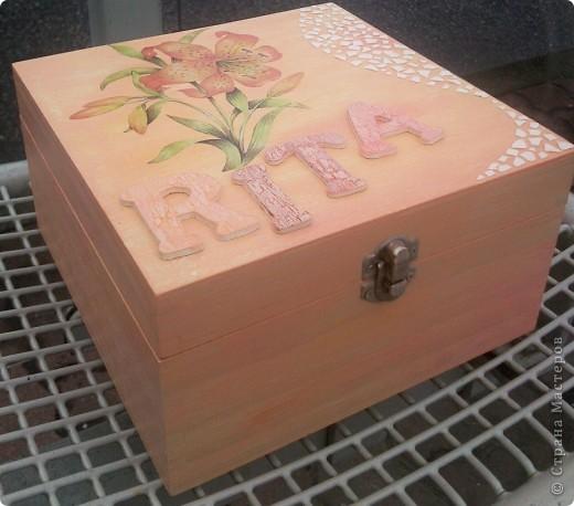 Коробочка в подарок фото 1