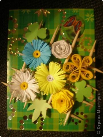 Всем здравствуйте!!! Вот моя очередная мини-серия с цветочками.  фото 3