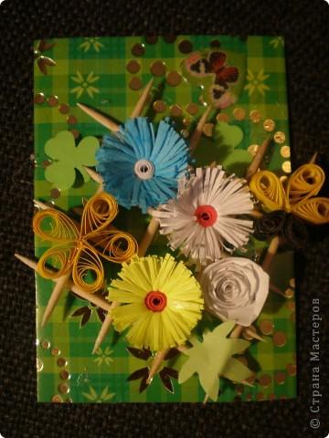 Всем здравствуйте!!! Вот моя очередная мини-серия с цветочками.  фото 2
