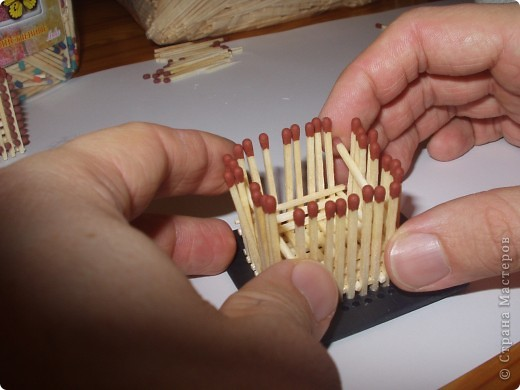 Как быстро и легко собрать кубик из спичек Моделирование.