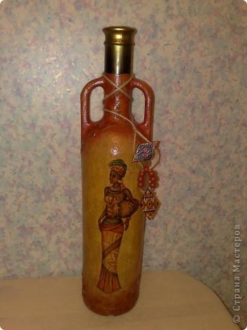Продолжаю отображать африканские мотивы в бутылках, на этот раз - Египет.  фото 4