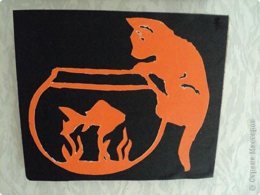 Когда коты разговаривают с рыбами? фото 1