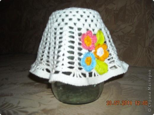 Панамка Вязание крючком.