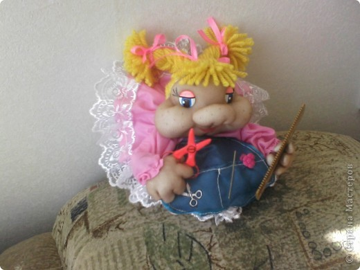 Куколка для парикмахера. фото 1