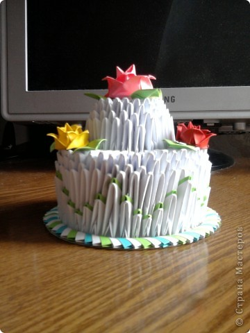 Мой праздничный тортик фото 1