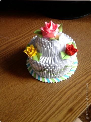 Мой праздничный тортик фото 2