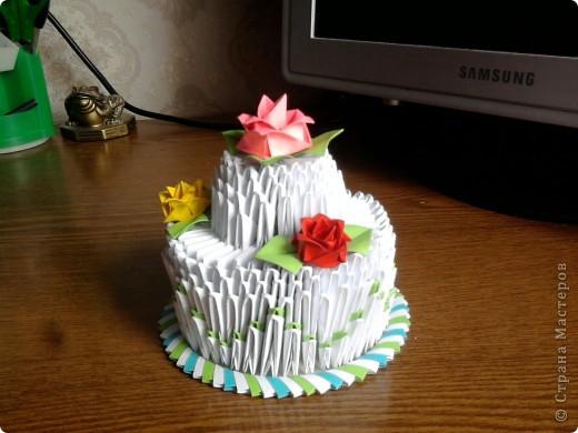 Мой праздничный тортик фото 3