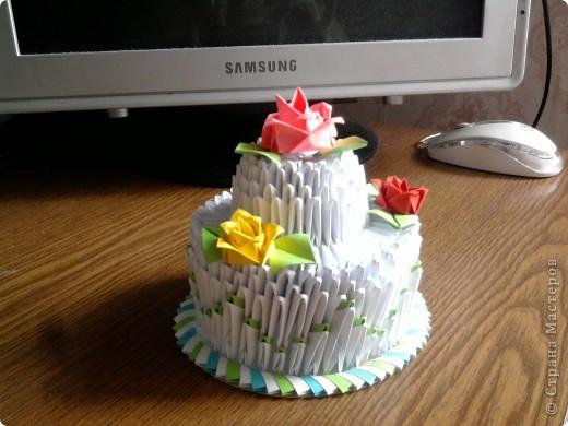 Мой праздничный тортик фото 4