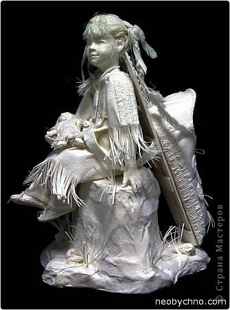 Продолжаю удивляться увиденным в сети, делюсь с вами, думаю вы тоже удивитесь! Даже не верится, что эти работы из бумаги! Авторы используют свои собственные запатентованные методы. Вот это бумажные скульптуры супругов Аллена и Пэтти Экман.  фото 2