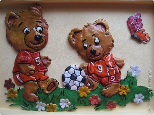 Вот такие картины я сделала для оформления раздевалки в детском саду. фото 6