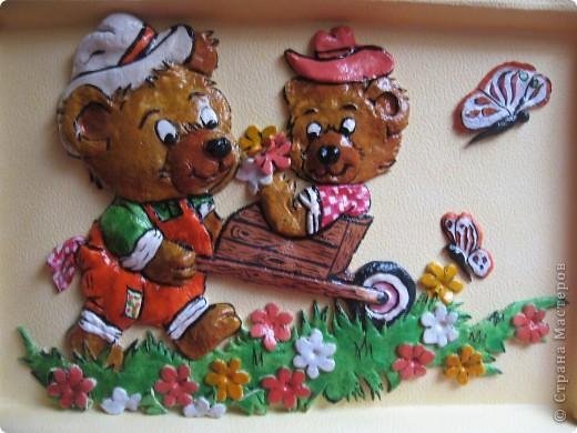 Вот такие картины я сделала для оформления раздевалки в детском саду. фото 7