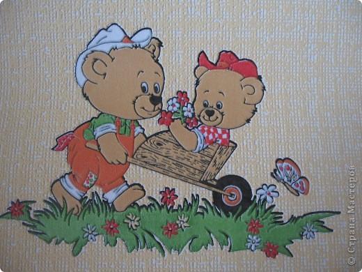 Вот такие картины я сделала для оформления раздевалки в детском саду. фото 3