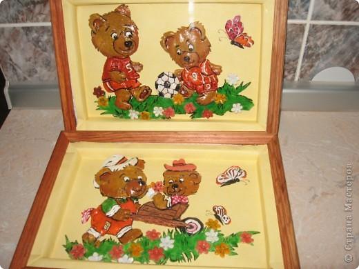 Вот такие картины я сделала для оформления раздевалки в детском саду. фото 1