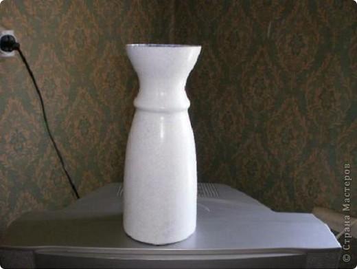 """Доброго всем дня.  Решила """"отдекупажировать"""" старую  вазу для цветов.  фото 2"""