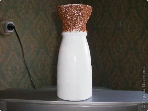 """Доброго всем дня.  Решила """"отдекупажировать"""" старую  вазу для цветов.  фото 3"""
