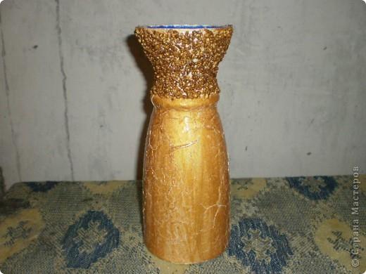 """Доброго всем дня.  Решила """"отдекупажировать"""" старую  вазу для цветов.  фото 4"""