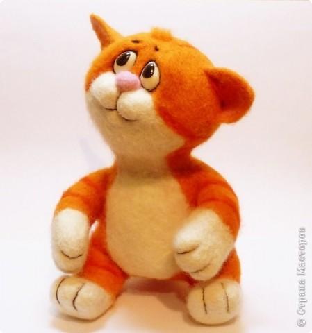 Рыжий котёнок фото 1