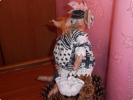 Мышка Полина с сумочкой !Модница фото 5
