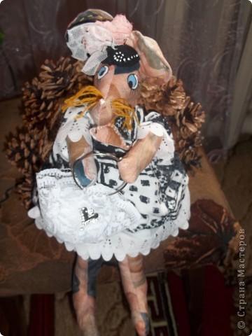 Мышка Полина с сумочкой !Модница фото 1