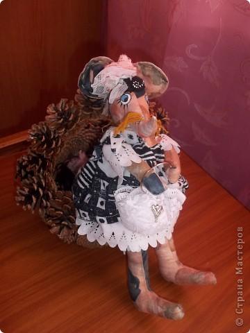 Мышка Полина с сумочкой !Модница фото 3
