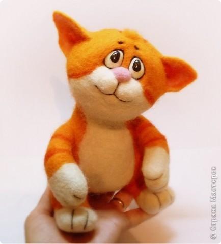 Рыжий котёнок фото 3