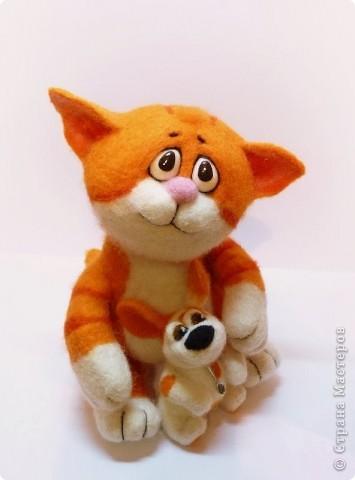 Рыжий котёнок фото 5