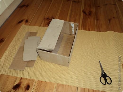Сделала себе коробочку для салфеток фото 2