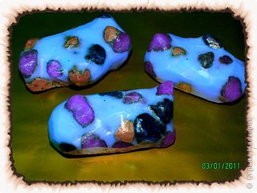 Первые мыльные камушки. фото 1