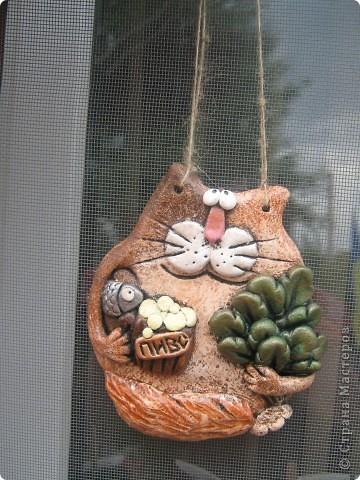 Рыбка и кот-банщик фото 2
