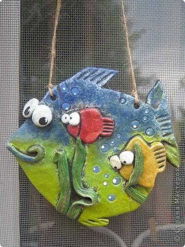 Рыбка и кот-банщик фото 1