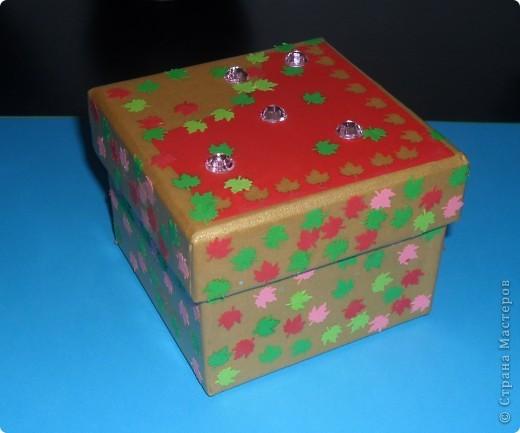 Вот такая вот коробочка.