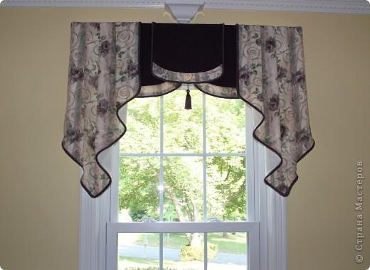 Пошив штор на кухню своими руками фото и выкройки