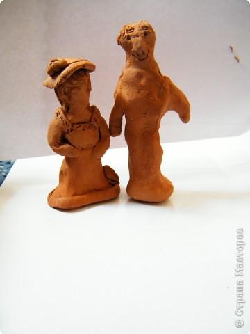 Наши с сынулей глинянные творения) фото 4